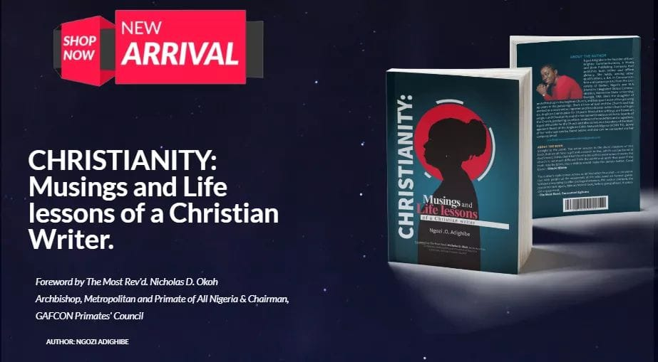 Christianity: Get a copy of our amazing book (2019)
